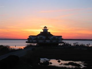 Vacation Homes in Ocean City condo photo - Beautiful Bay Sunsets