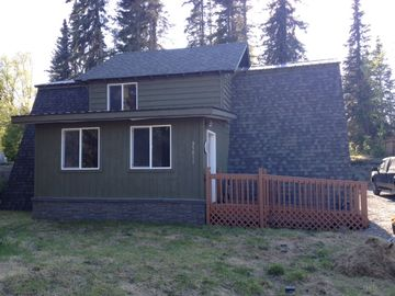 Soldotna chalet rental - Handicap accessible entryway of chalet