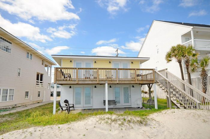 Newly Remodeled 2 Bedroom Duplex Oceanfront Close To Pier Sumdown 2 Br Vacation House For