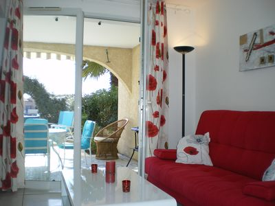 BEAUTIFUL APARTMENT T2 IN THE DRC WITH LAKE VIEW / POOL / LE BARCARES