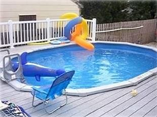 Private pool- great for young kids
