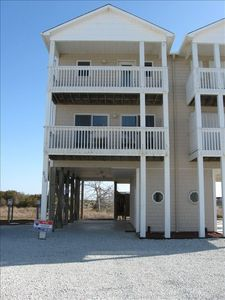 Front Door View - North Topsail Beach Duplex