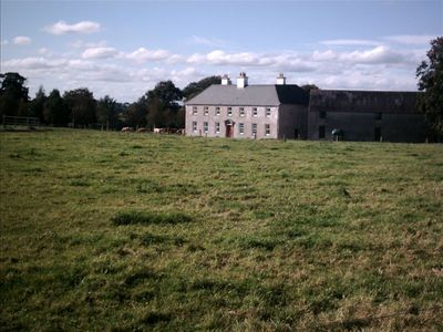 Aghaboe House from front pasture