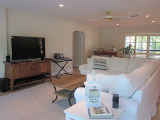 Vero Beach house photo - Living room with 55 ' Flat screen HD and 3D Smart TV.