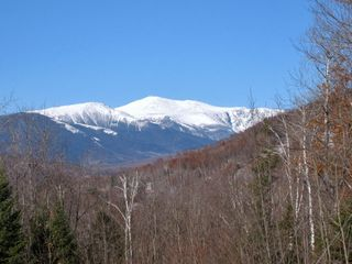 Jackson chalet photo - View of Mt Washington from house; Black Mtn.on right