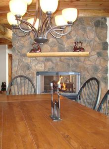 A Huge Dining Room Table Facilitates Bonding