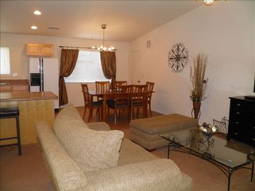 Grand Canyon Village house rental - OPEN LIVING AREA
