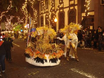 Carnival time in Funchal