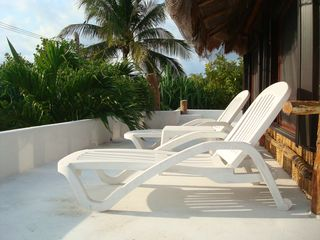 Puerto Morelos villa photo - Front Deck