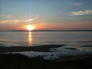 Cape sunset on the bayside of Wellfleet - Wellfleet house vacation rental photo