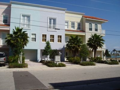 Street side view of your vacation townhome