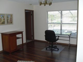 Winter Haven house photo - Office corner with Pool view