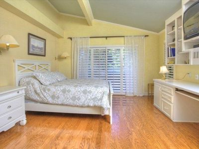 Manasota Key house rental - Downstairs Master Bedroom