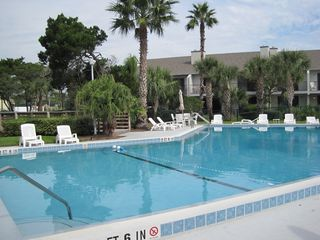 St. Augustine Beach townhome photo - Pool with Hot Tub