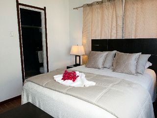 Curacao house photo - Mastertbedroom with its own private bathroom