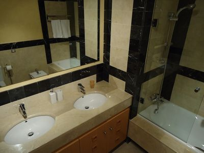 En suite bathroom to bedroom 3
