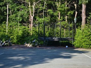 Quogue house photo - Tennis Court and Enclosed Trampoline
