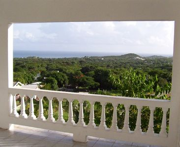 Vieques Island house rental - View from the Balcony of Casa Dos Chivos