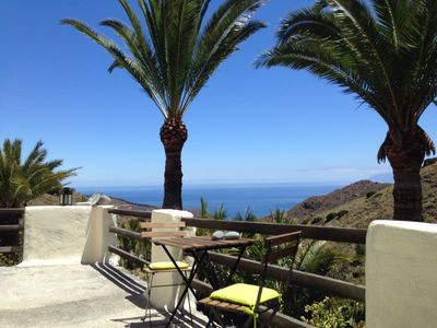 Holiday home CASA ALOHA in a palm oasis over the sea in the nature reserve