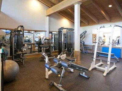 Northstar recreation center - private club. Workout room.