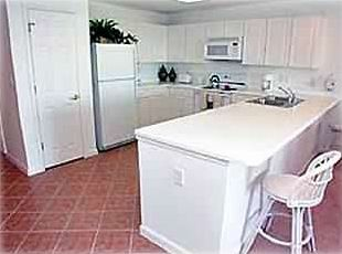 Kitchen Fully Equiped with Gulf View
