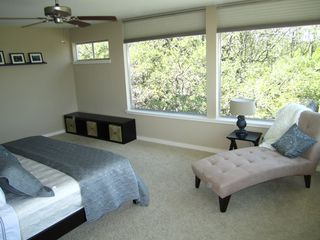 Contemporary yet cozy master suite. - Austin house vacation rental photo