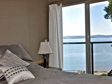 master bedroom over looking the ocean