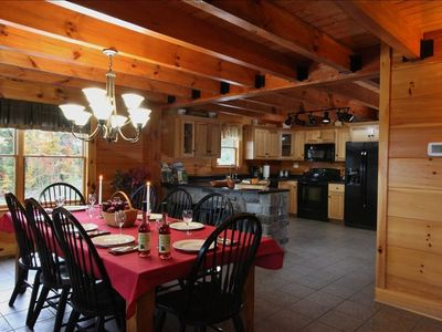 Large Fully Equipped Kitchen and Dining Room. Absolute Perfect Escape #1