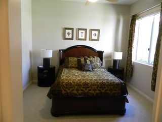 La Quinta house photo - Guest bedroom. Each bedroom has a private full bath.