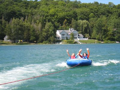 Access to Lake Leelanau is just 1/2 mile away to swim, waterski, or sail