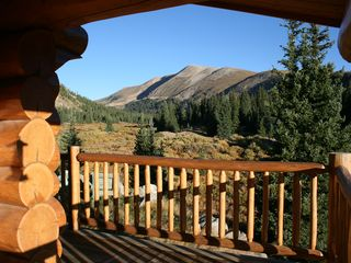 Fairplay cabin photo - View from the wrap around porch. Amazing! This one is special.