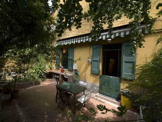 Bologna apartment photo - Il Ginkgo's nice garden. Ideal for relaxing and dining al fresco.