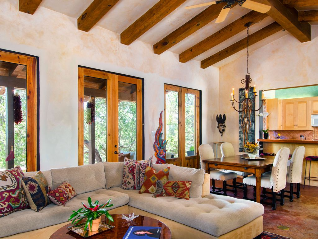 Secluded Santa Fe Guesthouse In Sangre De...