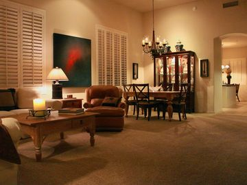 Scottsdale Grayhawk townhome rental - Large Great Room Open to Kitchen, Lots of Spaces to Relax, Dine, Visit, Enjoy!