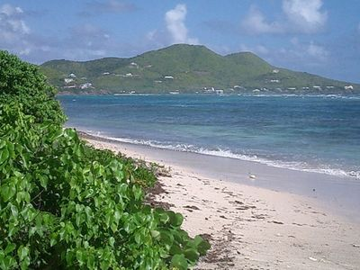 Secluded Beach at Paradise Point, St. Croix, US Virgin Island