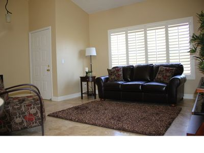 Chandler condo rental - Plushly furnished great room
