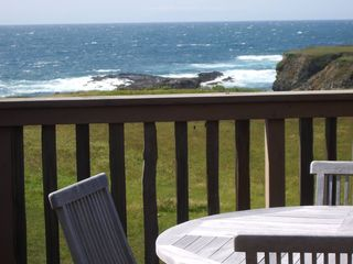 upstairsdeckvw - Mendocino house vacation rental photo