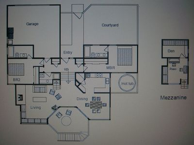 Floor plan of Bella Vista
