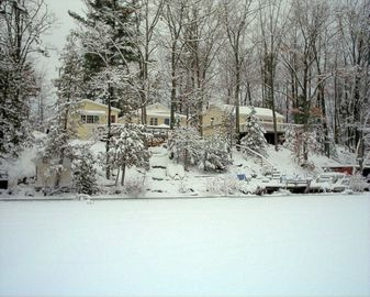 Winter at The Buckles Cabins!