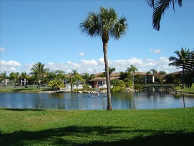 Fort Myers Beach condo rental - 1st floor View from Lanai