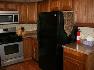 Clearfield cabin photo - Full kitchen