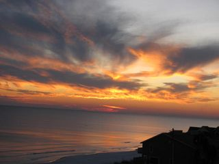 Awesome balcony sunsets from Beach Retreat 411 - Beach Retreat Condos condo vacation rental photo