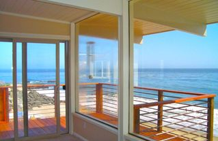 Upstairs Master Deck! - Santa Cruz house vacation rental photo