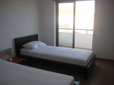 Twin Bedroom with Balcony and Sea View