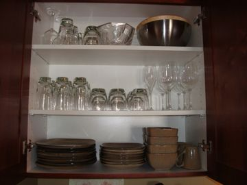 Quality dishware - not your typical rental