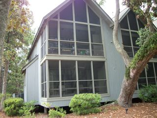 Kiawah Island condo photo - Back of the building facing the private lagoon