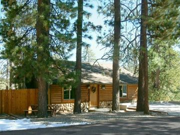 Big Bear Lake cabin rental - Lovely Log-Style Cabin with Lake View