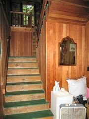 Wolfeboro cottage photo - To the upstairs
