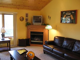 Crivitz condo photo - Every unit has a theme. This is Packer's Place!