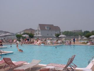 Vacation Homes in Ocean City condo photo - 2nd outdoor pool (directly accross street from unit)